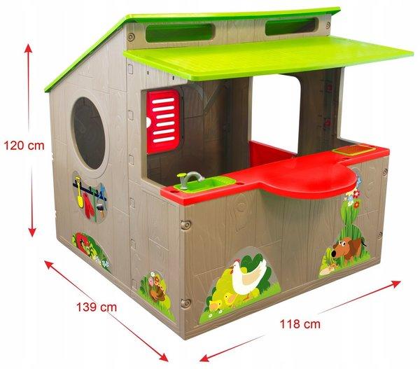 Spielhaus mit Küche Kinderspielhaus Sommerküche Kinderküche Kinderläden